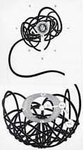 Neil Packer | Foucault's Pendulum, case binding base layer