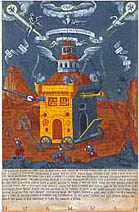 Neil Packer | Foucault's Pendulum, The Temple of the Rose-Cross