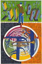 Neil Packer | Foucault's Pendulum, The Cemetery