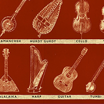 Neil Packer | One of a Kind: Musical Instruments