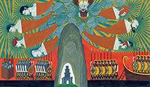 Neil Packer | 'The Gods Join In'