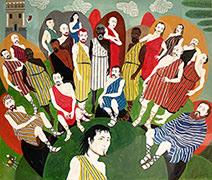 Neil Packer | 'Odysseus's Men Prepare for the Voyage'