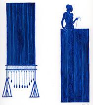 Neil Packer   Penelope weaving