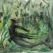 Olivia Lomenech Gill   Fantastic Beasts: Merpeople