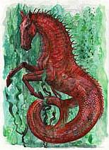 Olivia Lomenech Gill   Fantastic Beasts: Hippocampus