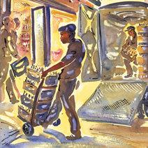 Paul Cox | Midtown Manhattan delivery
