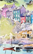 Paul Cox | A coastal scene in County Cork, a cover for International Living