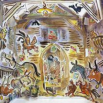Paul Cox   Nativity advent calendar