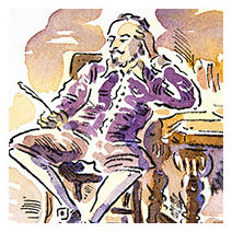 Paul Cox | Shakespeare from 'A Gentleman and a Scholar'
