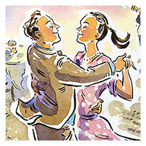 Paul Cox | Antonio and Francesca dancing from 'Who killed the Mayor'