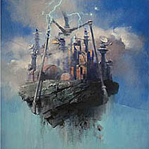 John Harris | Sci Fi Book Art