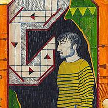 Neil Packer | Foucault's Pendulum<br> by Umberto Eco