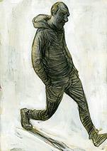 Simon Bartram | Henry, walking away