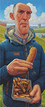 Simon Bartram   Man with a Battered Sausage